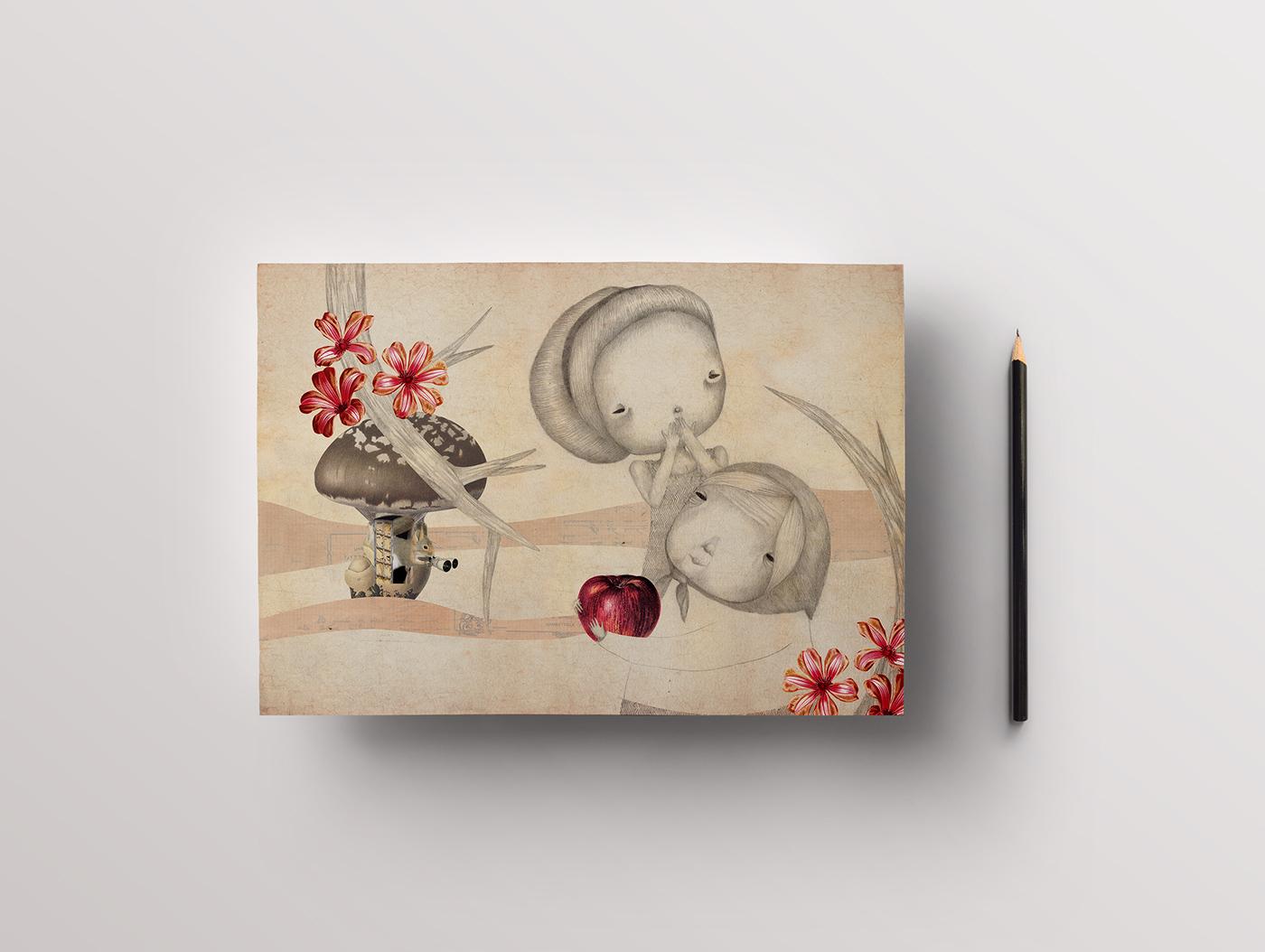 Bella Grossa Mela Rossa (da Biancaneve)