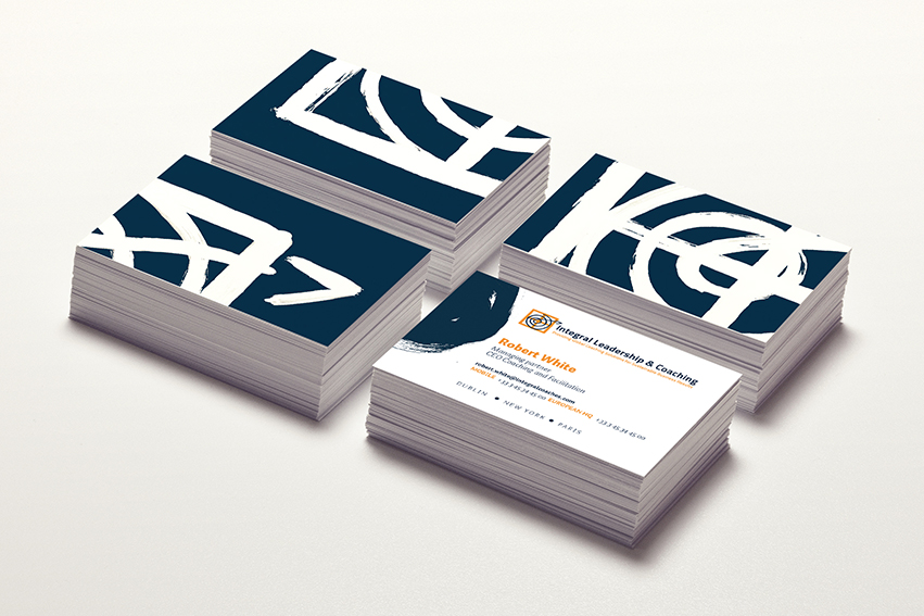 Integral business cards