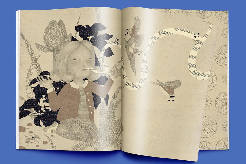 """""""Sound of the sea"""" picture book"""